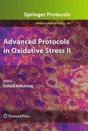 Advanced Protocols in Oxidative Stress II
