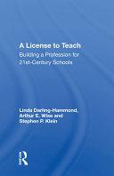 A License To Teach