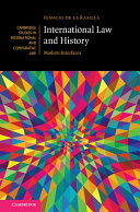 International Law and History