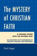 The Mystery of Christian Faith