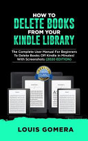 How to Delete Books from Your Kindle Library