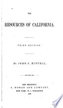 The Resources Of California Book PDF