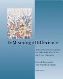 The Meaning of Difference Book