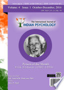 The International Journal Of Indian Psychology Volume 4 Issue 1 No 79