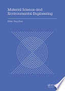 Material Science and Environmental Engineering Book
