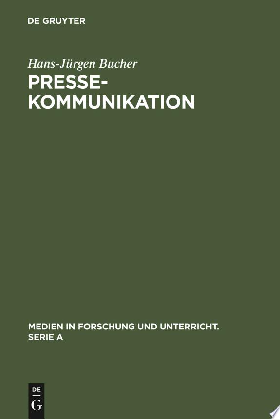 Pressekommunikation