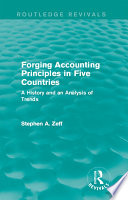 Forging Accounting Principles in Five Countries Book