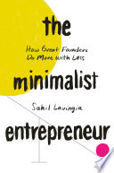 The Minimalist Entrepreneur