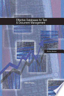 Effective Databases For Text Document Management