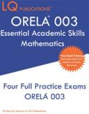 ORELA 003 Essential Academic Skills Mathematics