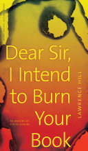 Pdf Dear Sir, I Intend to Burn Your Book Telecharger