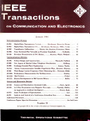 IEEE Transactions on Communication and Electronics
