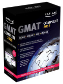 Kaplan GMAT Complete 2016: The Ultimate in Comprehensive Self-Study for GMAT