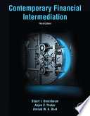 Contemporary Financial Intermediation Book