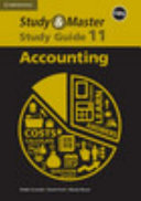 Books - Study & Master Accounting Grade 11 Study Guide Caps | ISBN 9781107425682