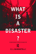 What is a Disaster? Pdf/ePub eBook