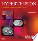 Hypertension  A Companion to Braunwald s Heart Disease E Book Book