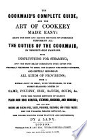 The Cookmaid s Complete Guide     By a Lady Book