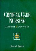 Critical Care Nursing Book