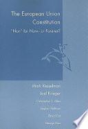 The European Union Constitution