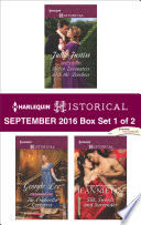 Harlequin Historical September 2016 - Box Set 1 of 2
