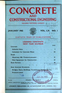 Concrete And Constructional Engineering Book PDF