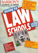 Barron s Guide to Law Schools