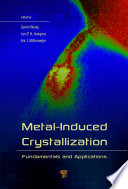 Metal Induced Crystallization Book PDF