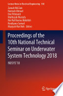 Proceedings of the 10th National Technical Seminar on Underwater System Technology 2018