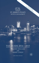 St  James s Place Tax Guide 2014 2015