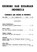 Economics and finance in Indonesia