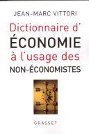 Pdf Dictionnaire de l'économie à l'usage des non-économistes Telecharger