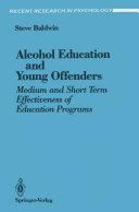 Alcohol Education and Young Offenders