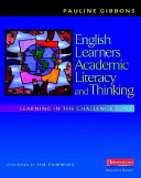 English Learners  Academic Literacy  and Thinking
