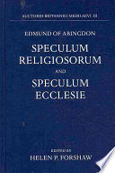 Read Online Edmund of Abingdon For Free