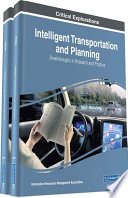 Intelligent Transportation and Planning  Breakthroughs in Research and Practice Book