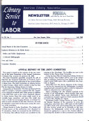 Library Service To Labor