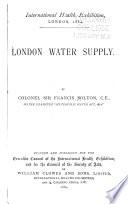London Water Supply