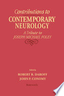 Contributions to Contemporary Neurology