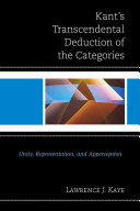 Kant's Transcendental Deduction of the Categories