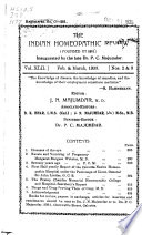 The Indian Homoeopathic Review