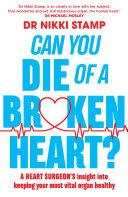 Can You Die of a Broken Heart? Pdf/ePub eBook