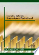 Innovative Materials: Engineering and Applications II