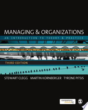 Free Download Managing and Organizations PDF - Writers Club