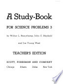 Teacher's Guidebook for Science Problems for Junior High School