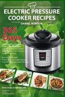 Electric Pressure Cooker Recipes Book