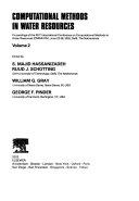 Computational Methods in Water Resources Book