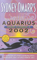 Day by Day Astrological Guide for Aquarius 2002
