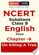 NCERT Solutions for Class 9 English Beehive  Poem  Chapter 8 On Killing a Tree