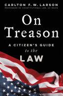 On Treason Pdf/ePub eBook